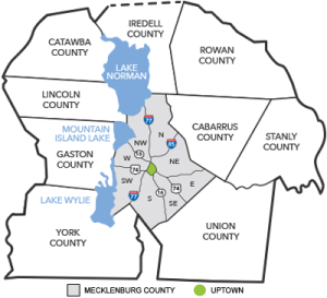 Mooresville, NC Real Estate Search Map