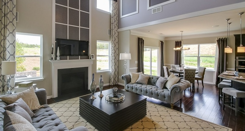 Rock-Creek-Homes-Denver-NC-Family-Room