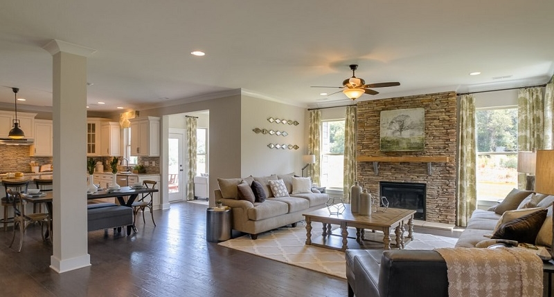 Rock-Creek-Homes-Denver-NC-Living-Room