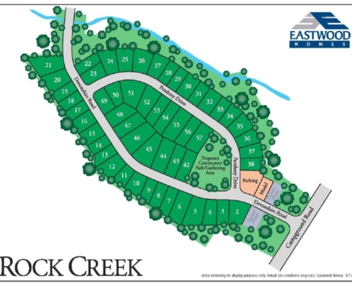 Rock Creek-Site-Map